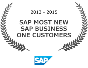 SAP Most New Sap Business One Customers Award