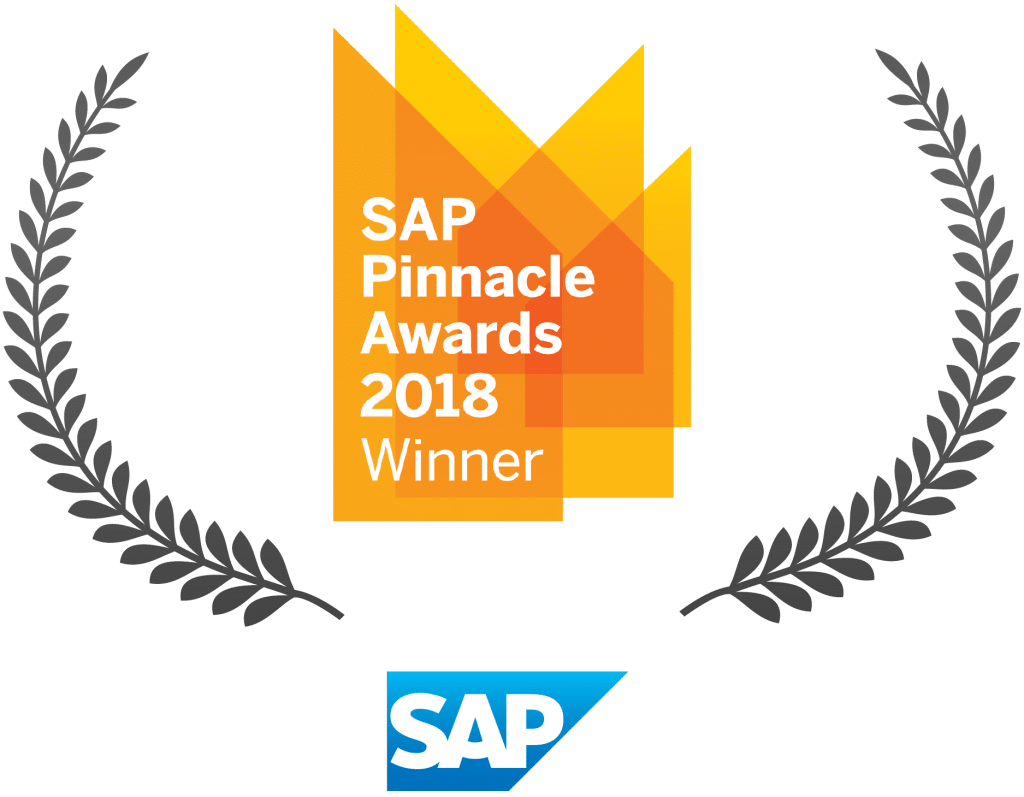 SAP Pinnacle Awards 2018 Winner